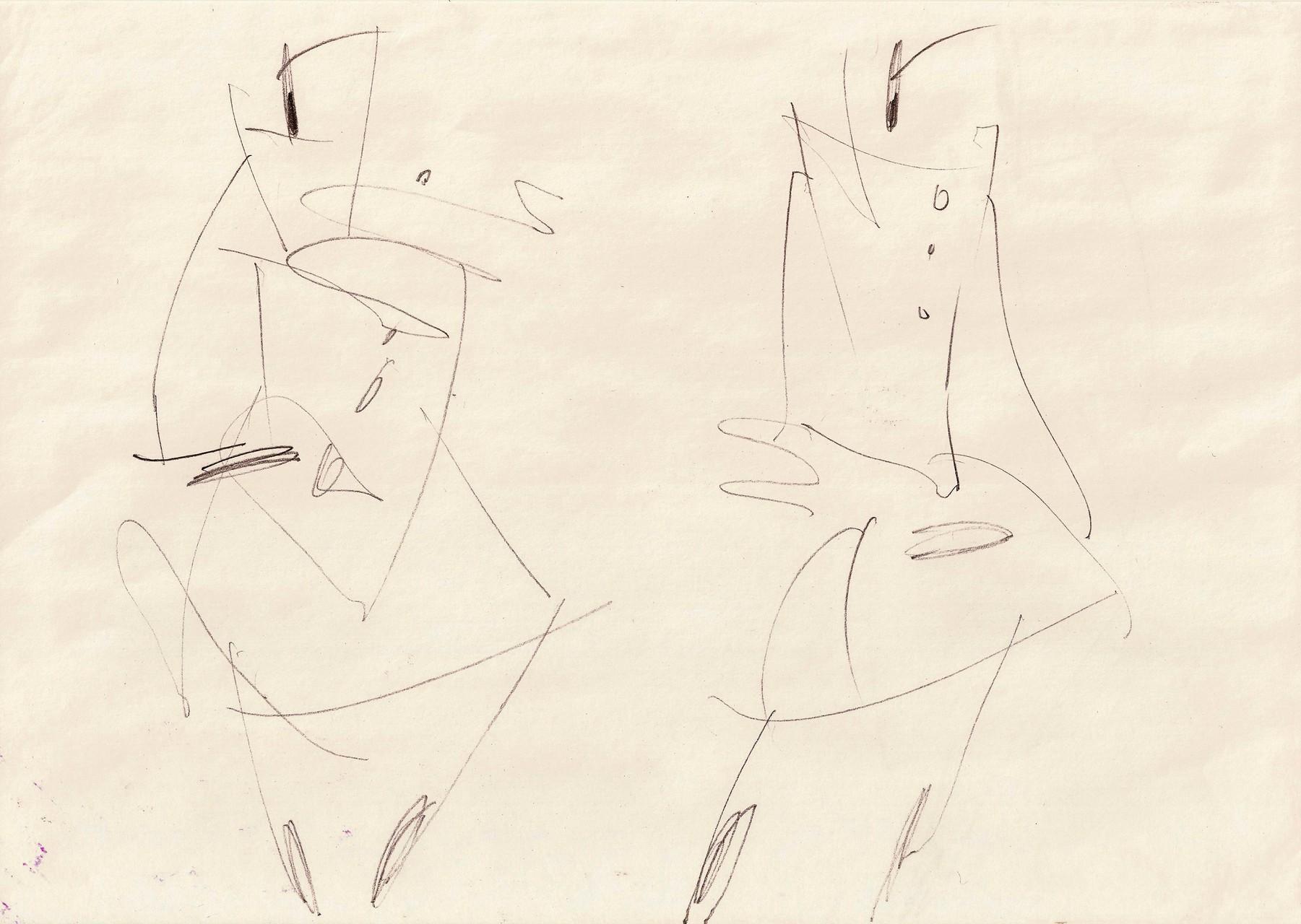 Sketch on task (Fashion Based Shape + Folds)